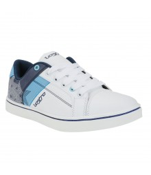 Vostro 1220 White Blue Men Casual Shoes VSS0239